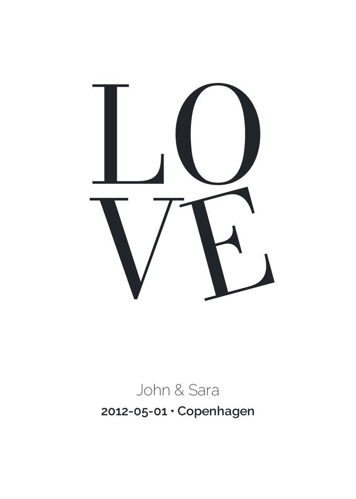 Love (customizable)
