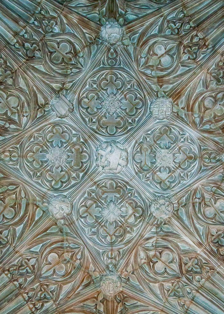 Pattern in tempel