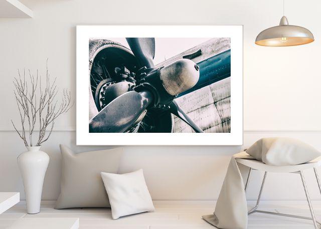 Propeller aircraft retro Environment