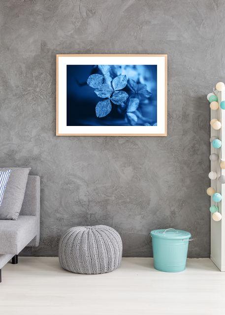 Blue flowers Environment