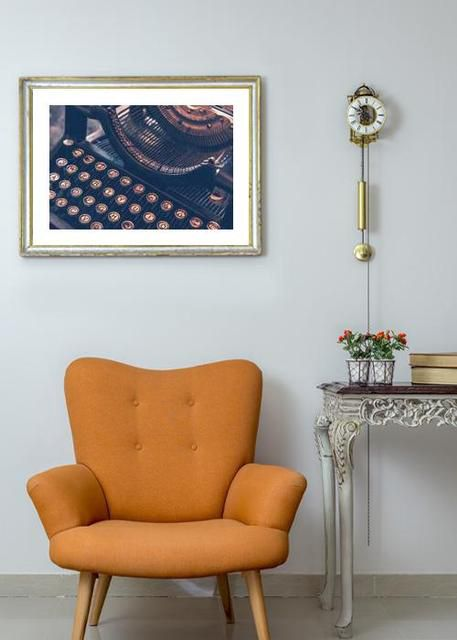 Vintage typewriter Environment
