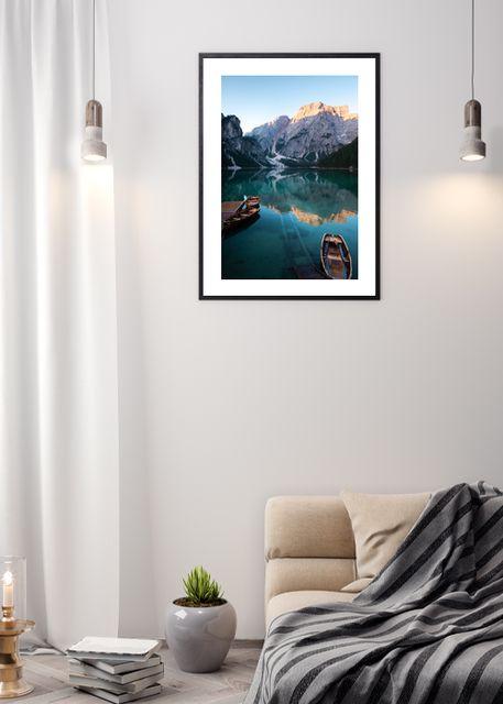 Mountain lake Environment