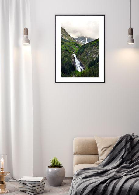 Balea waterfall Environment
