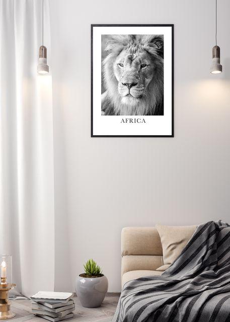 Lion face Environment