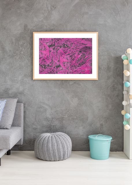 marble in pink Environment