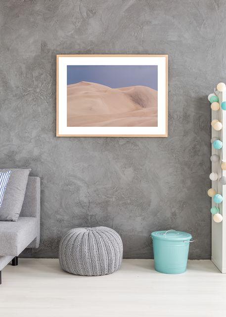 Dunes in desert Environment