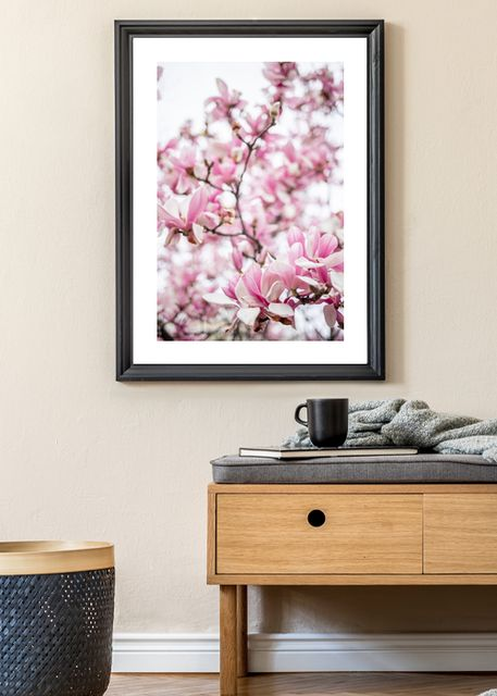 Pink flowering tree Environment