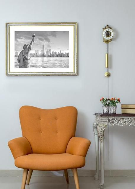 New York from Liberty island Environment