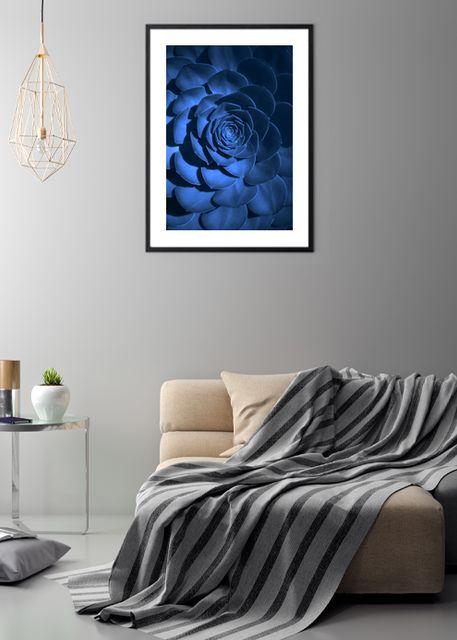 Blue flower Environment