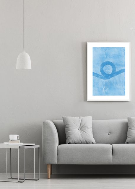 Blue art Environment