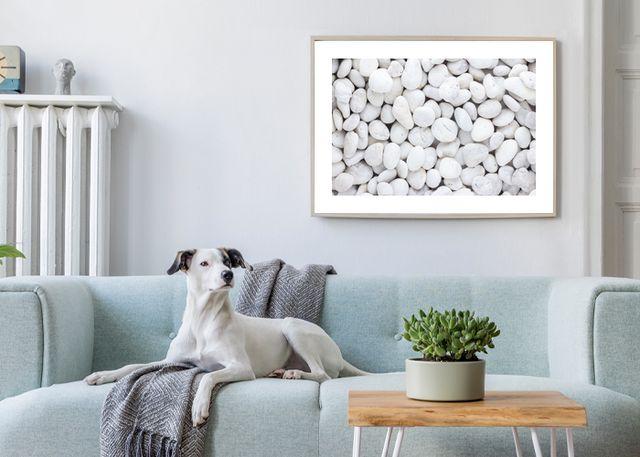 White stones Environment