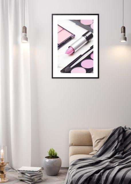 Pink makeup Environment