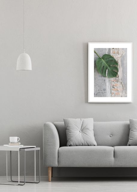 Leaves on a textured floor Environment