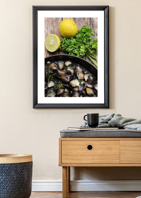 Mussels and lemons Environment