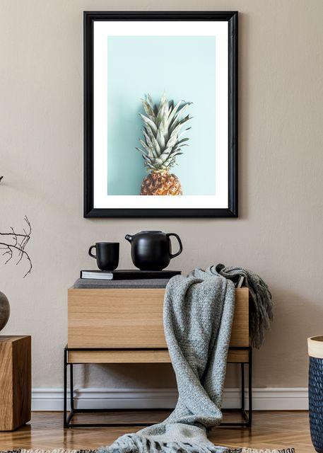 Half pineapple Environment