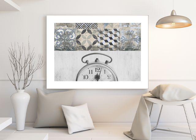 Clock retro Environment