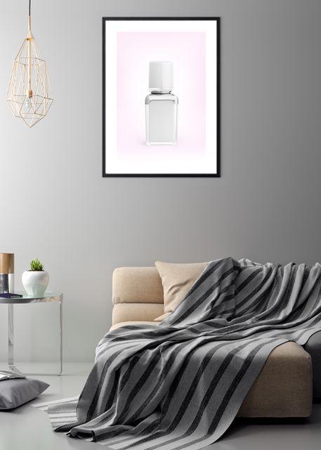 Perfume pink Environment