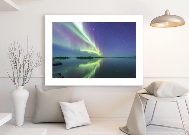 Northern Lights 3 Environment