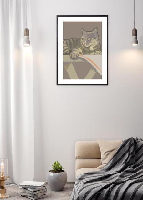 Hildur the cat by Ritlust Environment