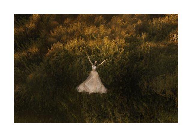 Natalia in the field