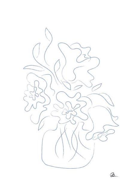 Flower Bouquet Sketch