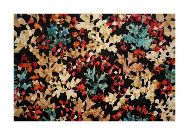 Floral Geometric No2