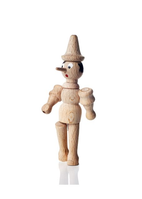 Wooden Pinocchio doll