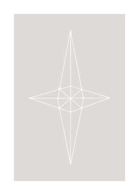 Grid Star Grey