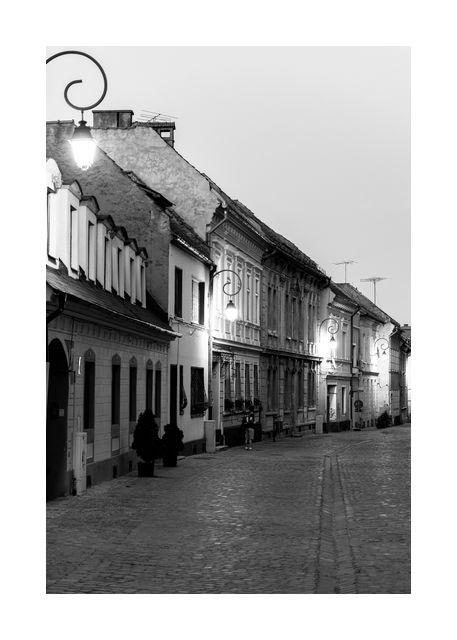 Old street in stockholm