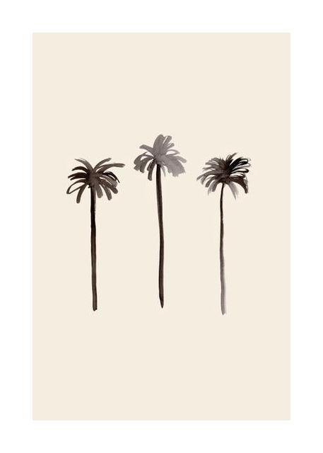 Palm Trees Ink