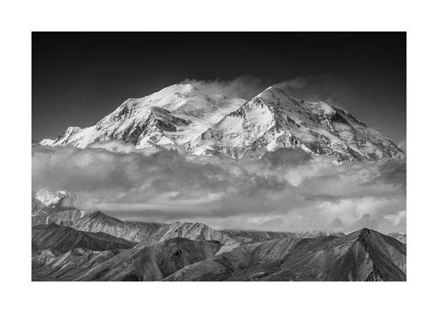 Denali from the opposing ridge line