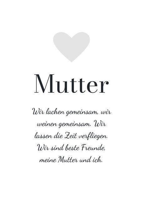 Mutter (eigener text)