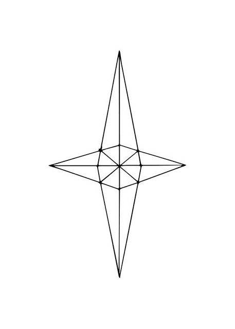 Grid Star White