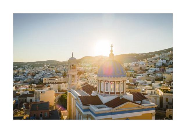 syros village  view