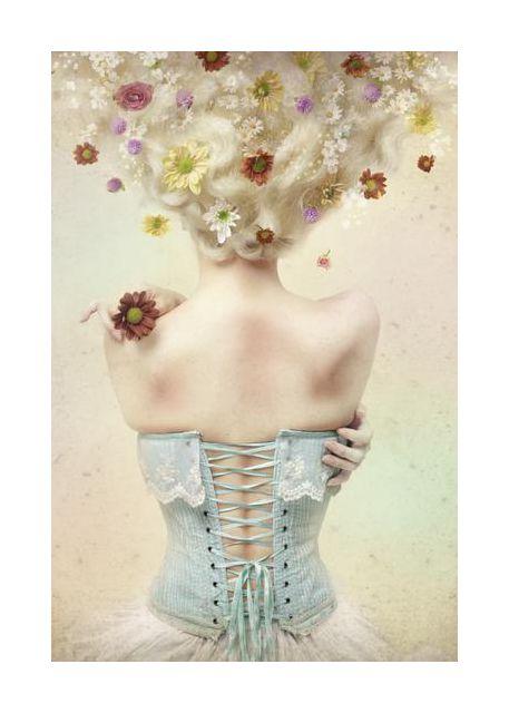 Girl of the flower garden