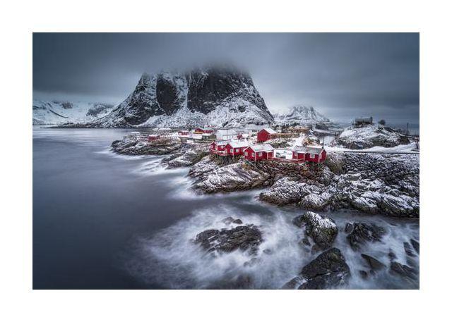 Winter Lofoten islands