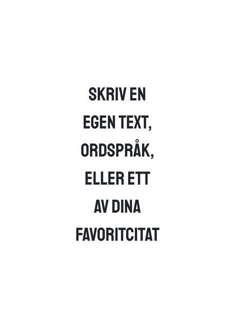 Egen text