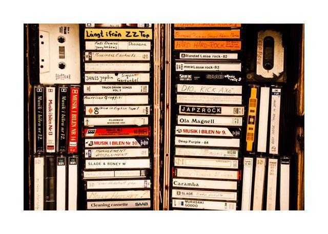 Musik i en låda