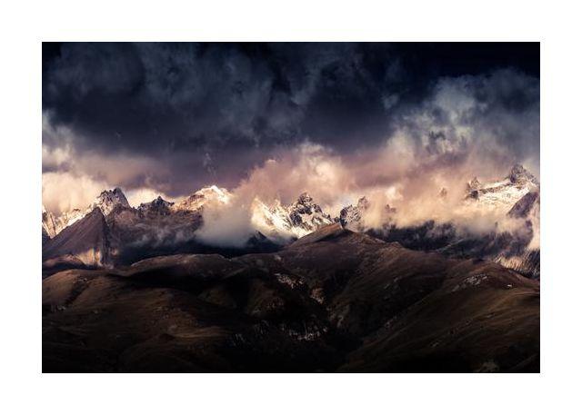 Tibet snow mountain