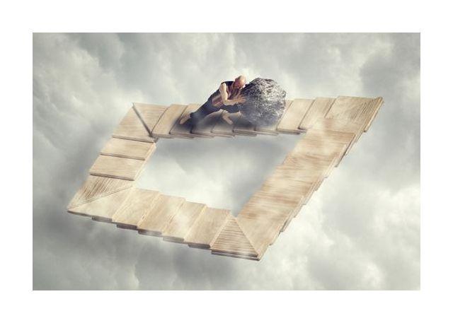 Sissyfos goes M.C. Escher