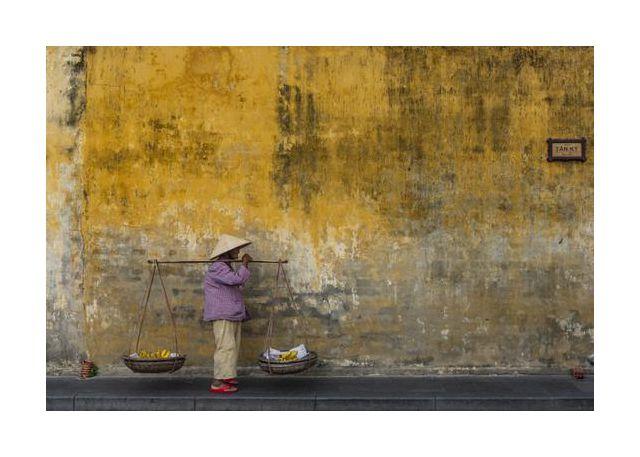 Fruit seller in Hoi An