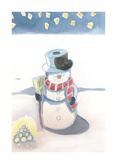 Snowman by Ritlust