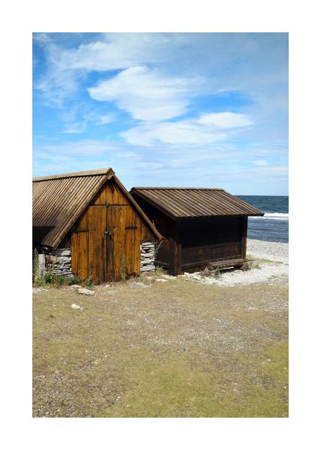 Gotland fishing huts