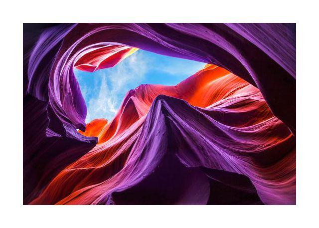 Magical Lower Antelope Canyon