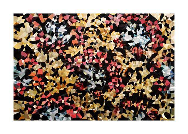 Floral Geometric No1