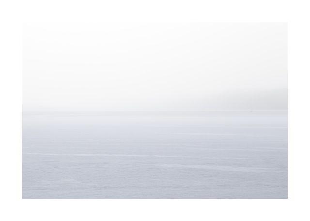 Sea and haze
