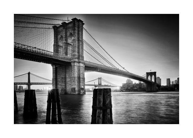 Brooklyn Bridge - sunrise