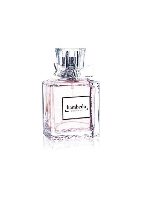 Pink perfume bottle