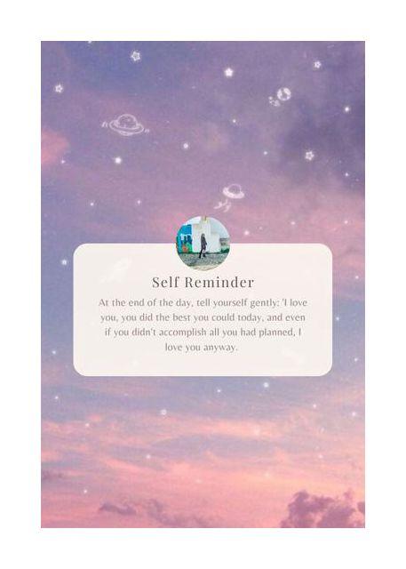 Self Reminder 2