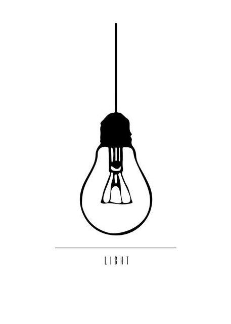 Minimalist Lamp Bulb